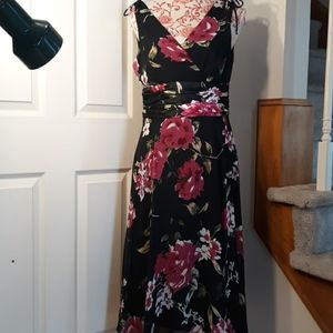 Evening ladies dress 8. Connected